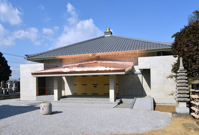 満福寺様本堂新築工事のアイキャッチ画像