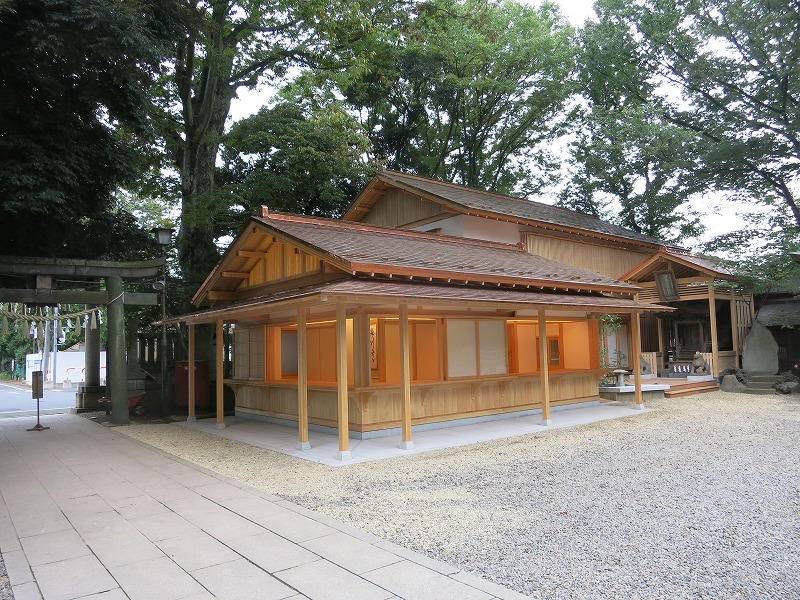 氷川神社様社務所新築工事のアイキャッチ画像