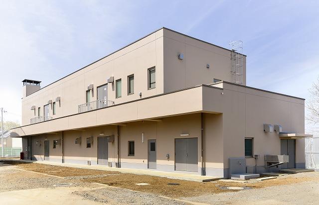 稲荷山配水場電気ポンプ室棟建設工事のアイキャッチ画像
