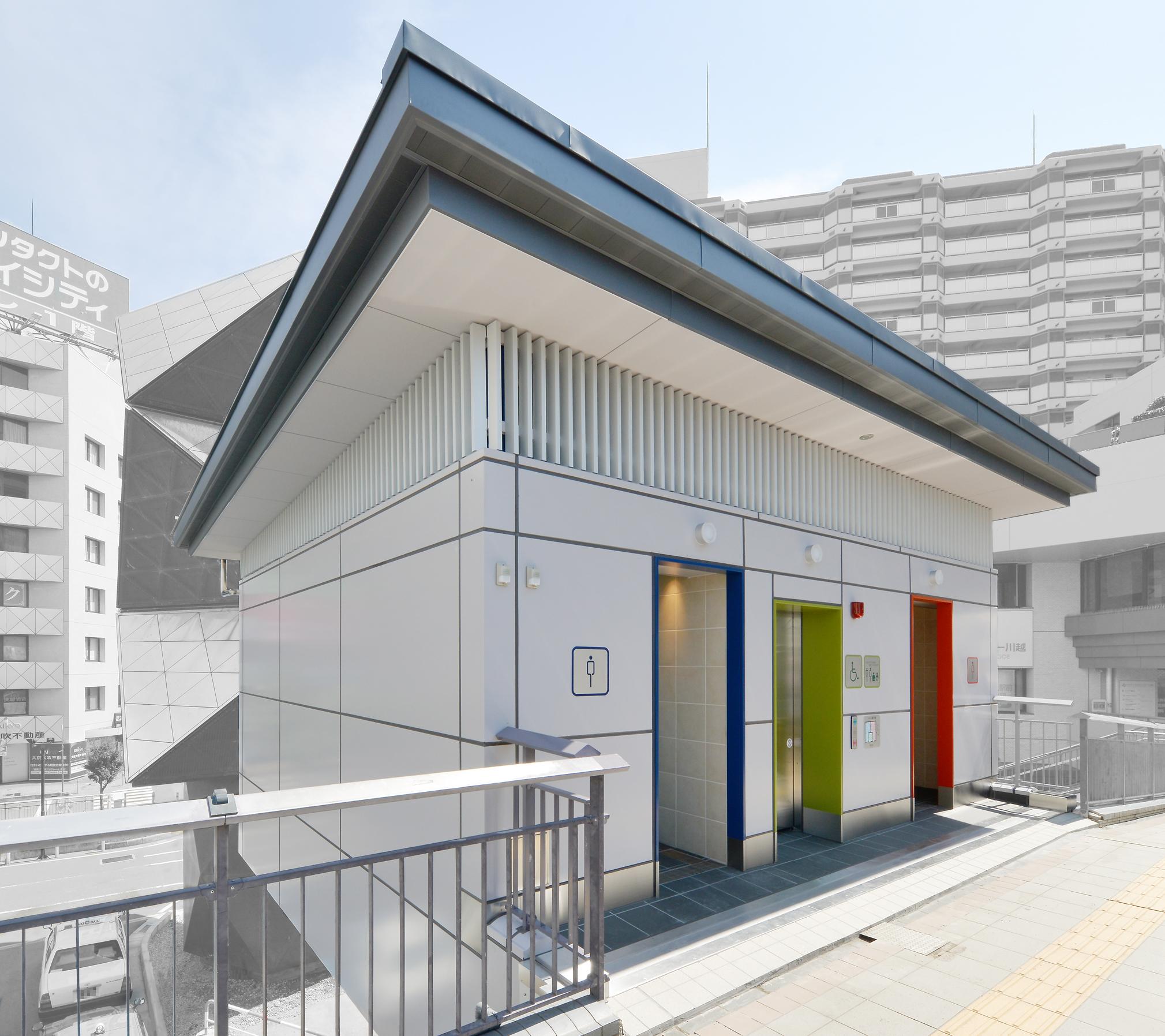 川越駅東口駅前広場(公衆トイレ)整備工事のアイキャッチ画像