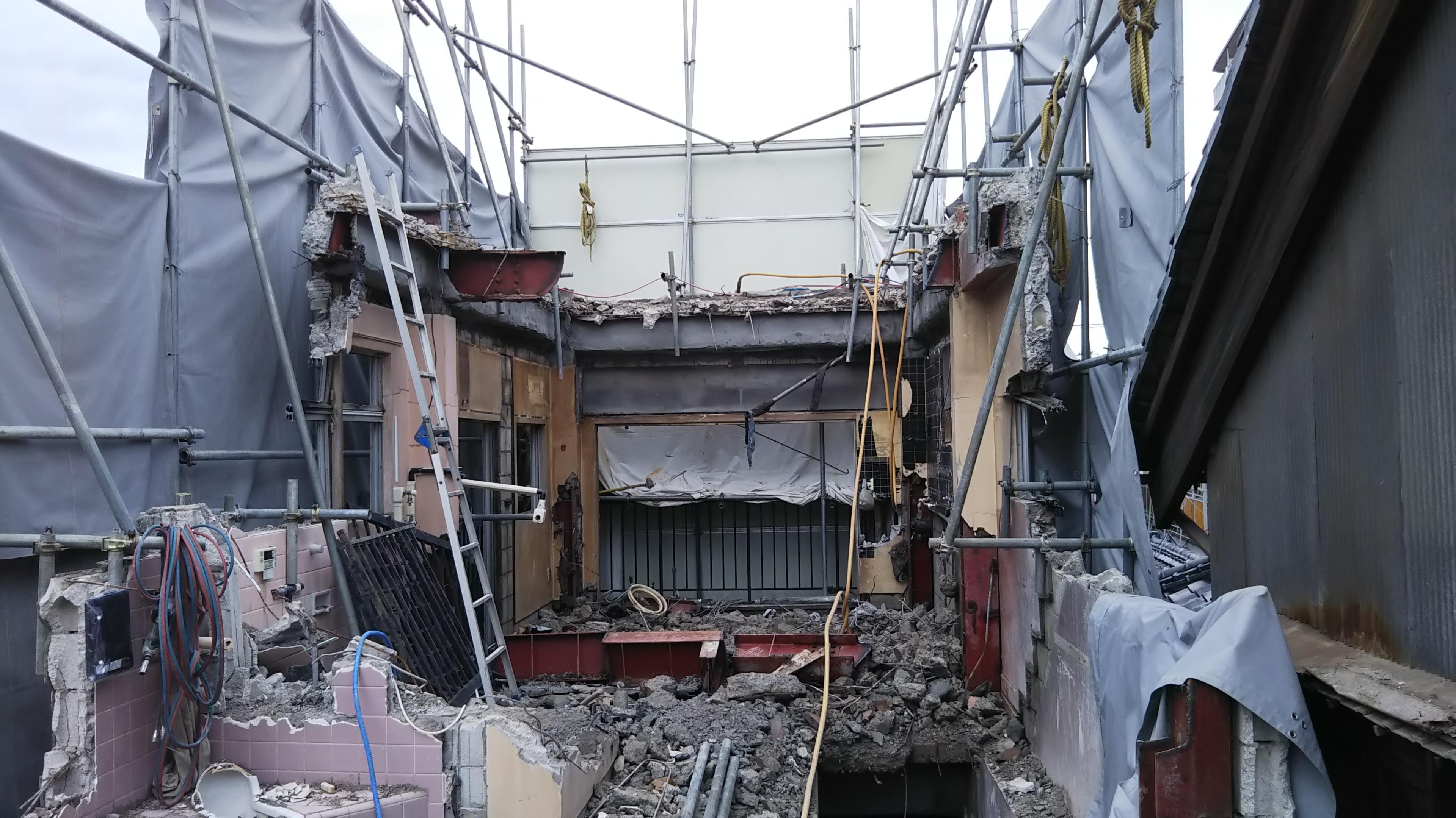 カニヤ様解体工事のアイキャッチ画像