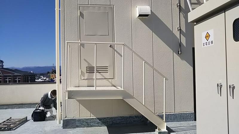Mビル様鋼製扉及び鉄骨階段修繕のアイキャッチ画像