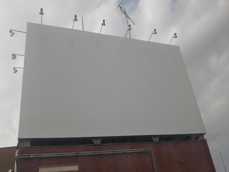 O様ビル屋上看板塗装工事のアイキャッチ画像